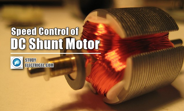 SPEED-CONTROL-OF-DC-SHUNT-MOTOR