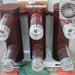 Tulip contacts of Vacuum Circuit Breaker
