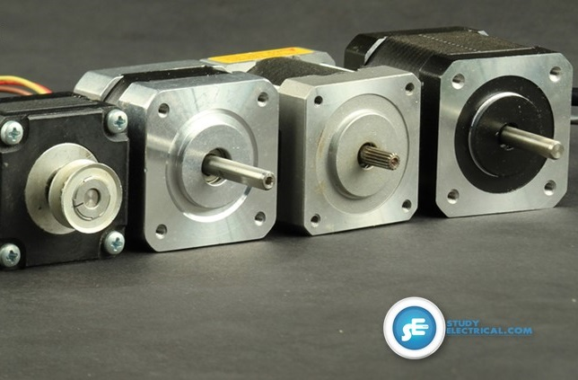 Stepper motor types