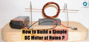 Build a simple dc motor at home