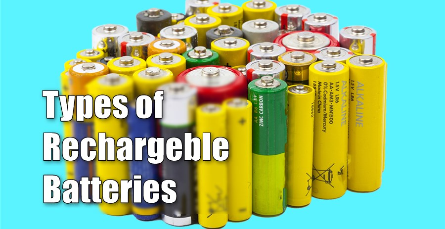 types-of-rechargeablebatteries