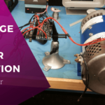 dc motor voltage and power equations