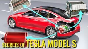 How does tesla electric car work