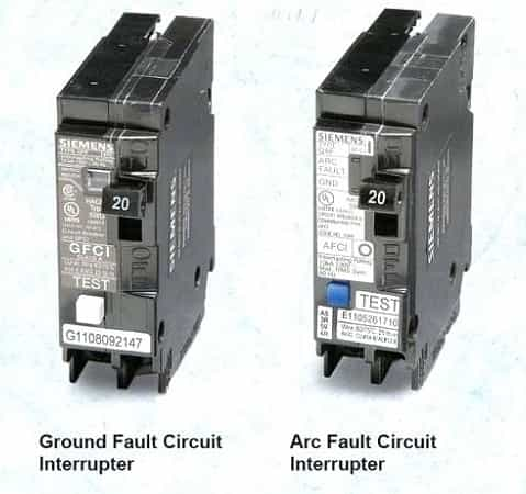 GFCI vs AFCI Circuit Breaker