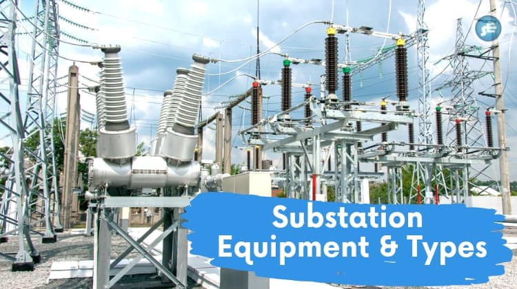 Substation-components-equipment-layout