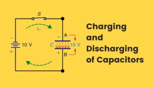 capacitor charging and discharging