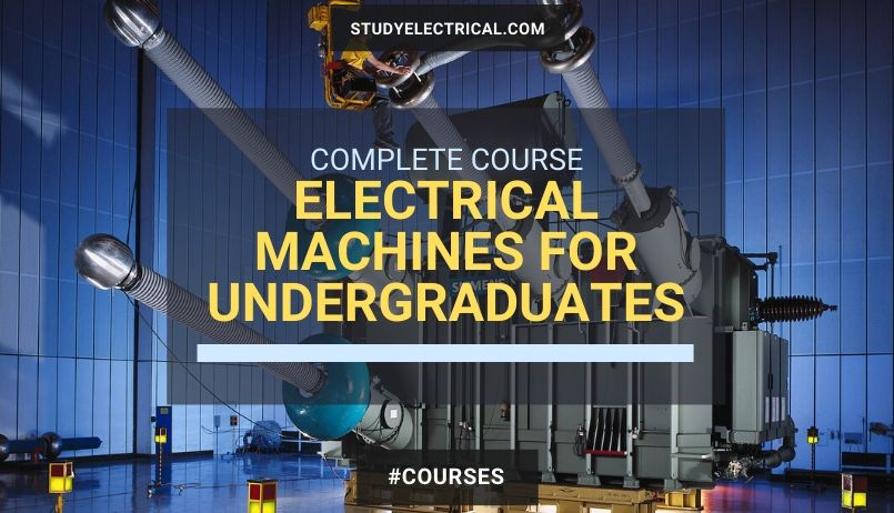 Electrical Machines for Undergraduates