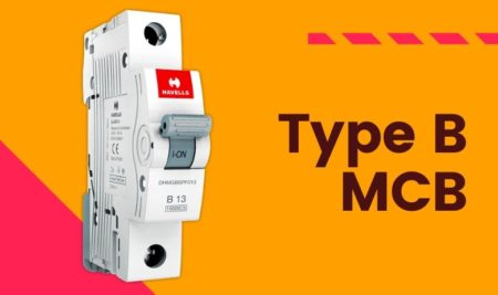 Type B Miniature Circuit Breaker ( Type B MCB)